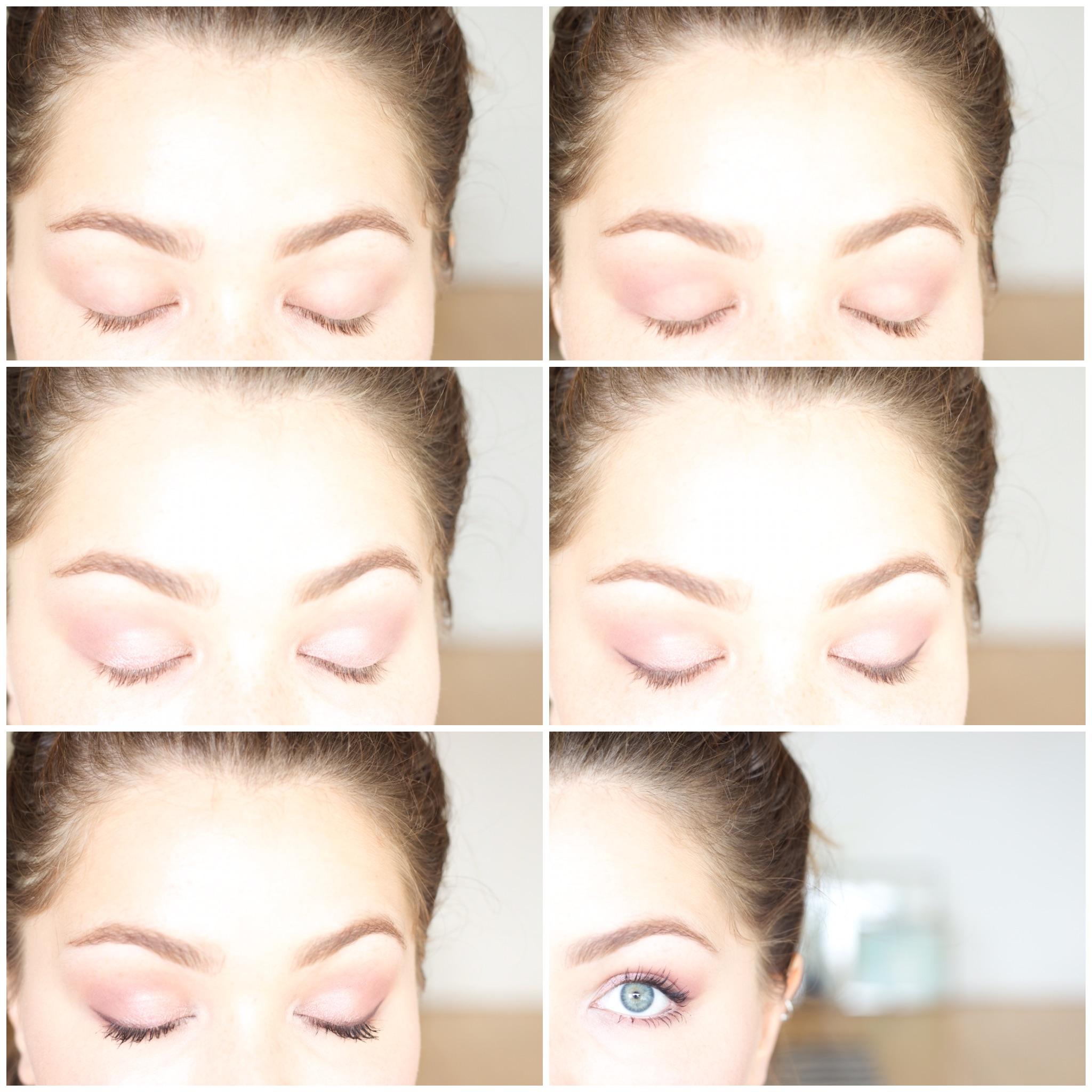 La girl nudes palette makeup tutorial image baditri Image collections