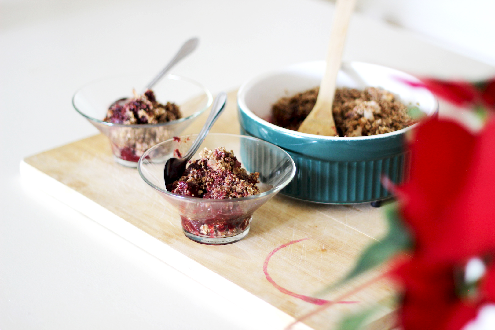Berry & Apple Crumble