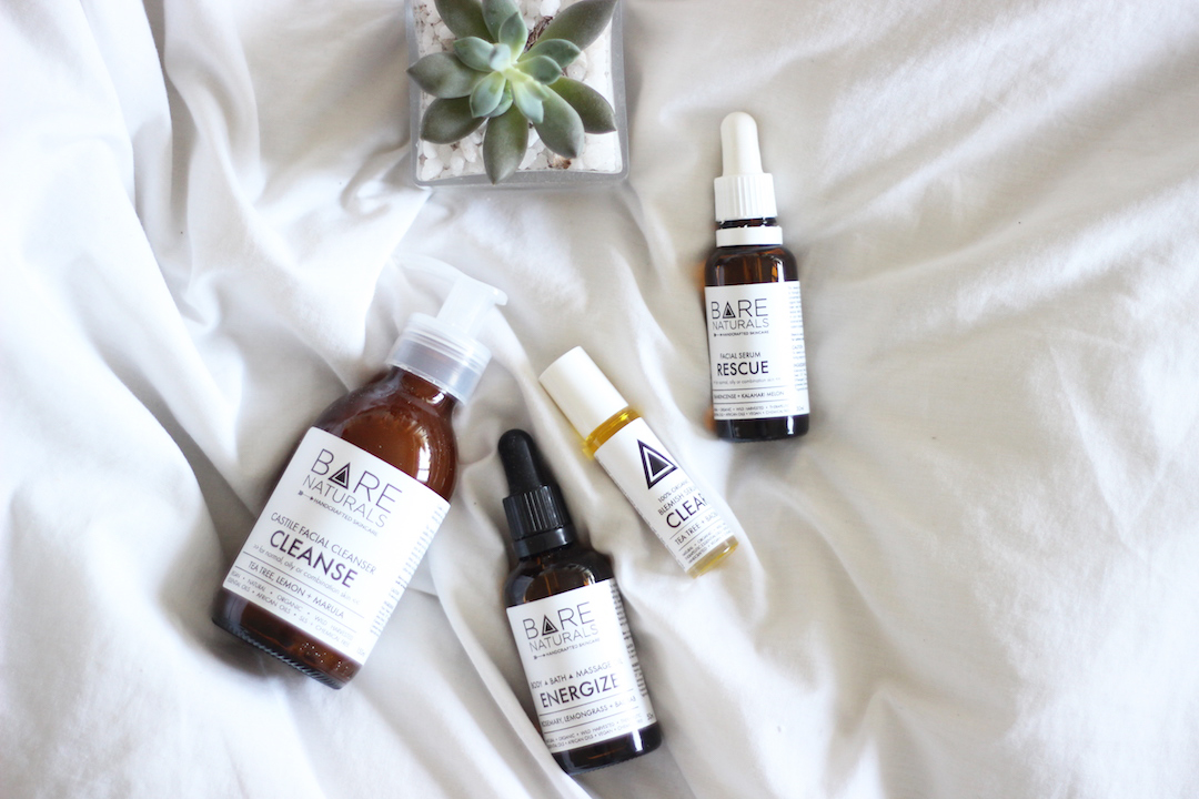 Local South African Skincare: BARE NATURALS