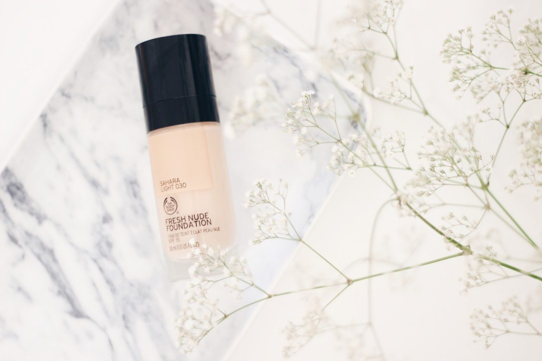the body shop fresh nudes foundation review