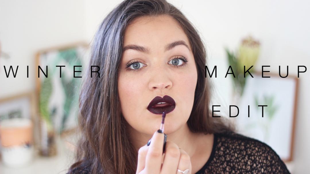 Winter makeup edit - mac high drama liquid lipstick