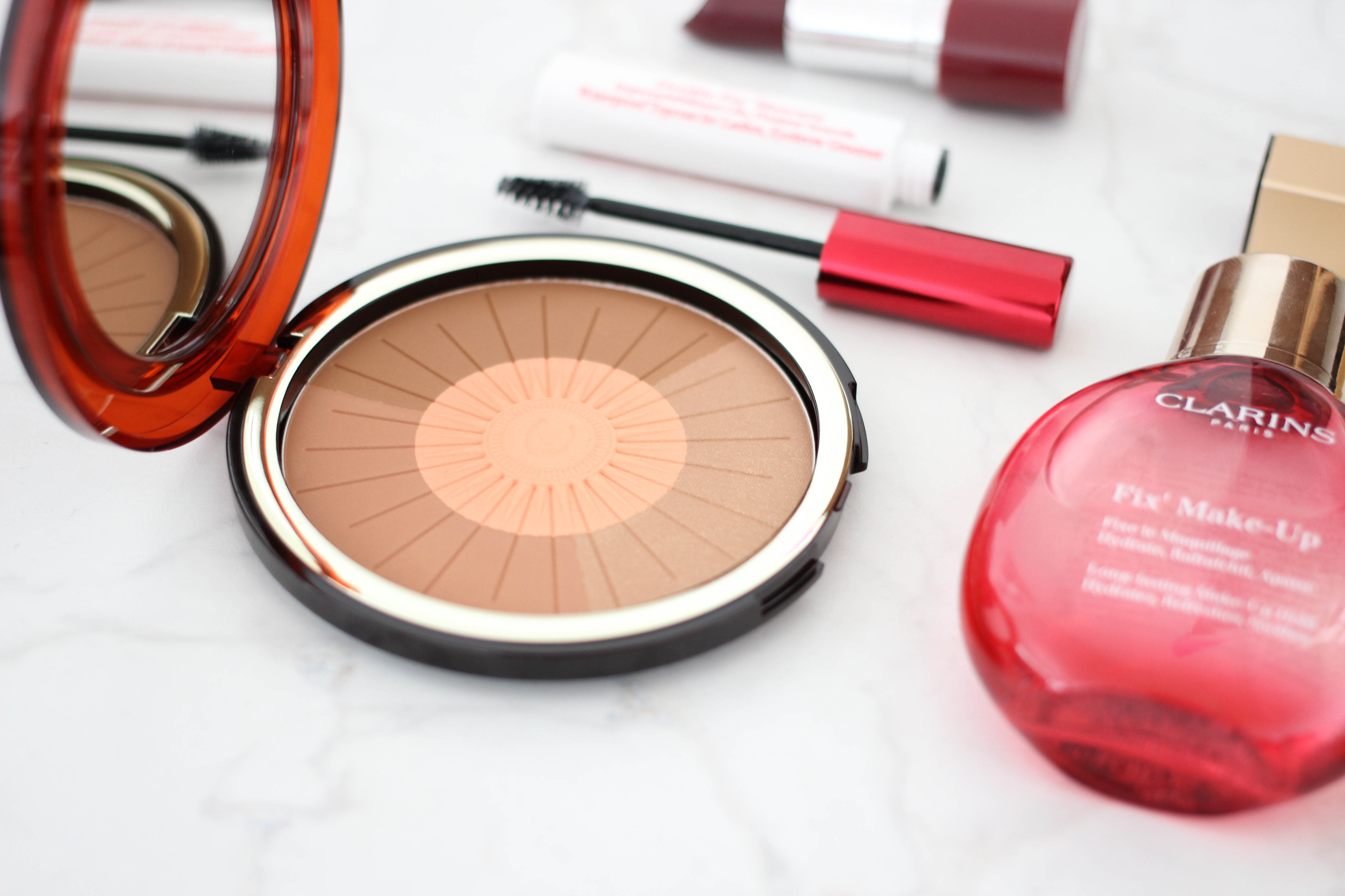 Clarins Summer Collection Bronze & Blush Compact