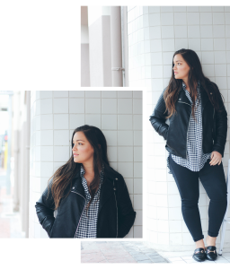 How to Style Gingham in winter