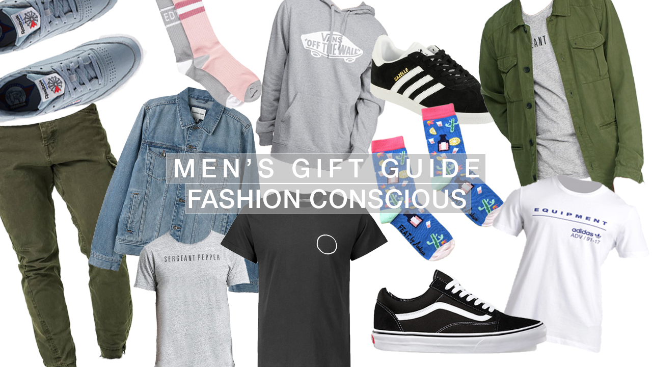 mens gift guide for the fashion conscious, classics, tech & gadgets, activewear