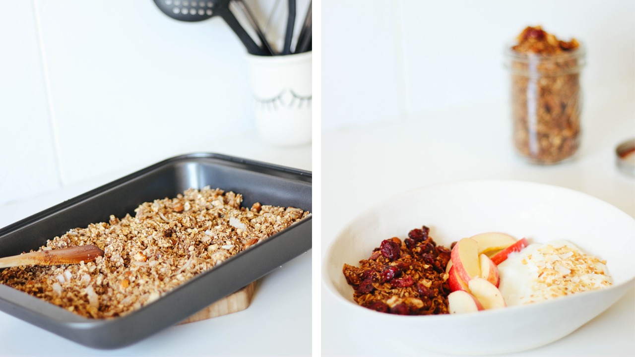 Delicious, Healthy & Simple Homemade Granola