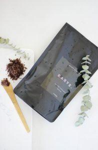 Kahve Skin Body Scrub - Organic, natural body scrub - coffee cinnamon