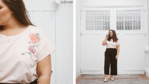 Styling Culottes four ways - plus size