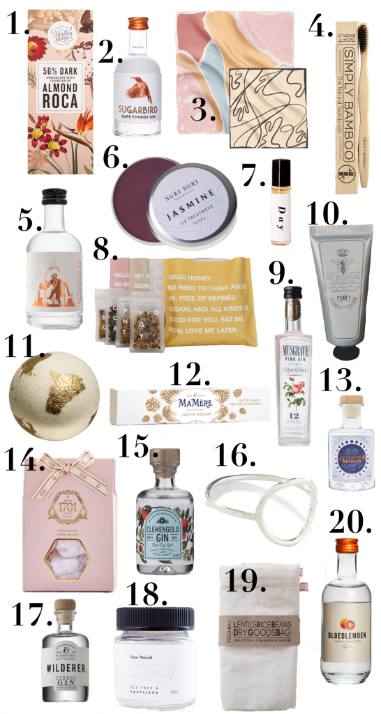 CHRISTMAS GIFT GUIDE: Local South aAfrican stocking fillers